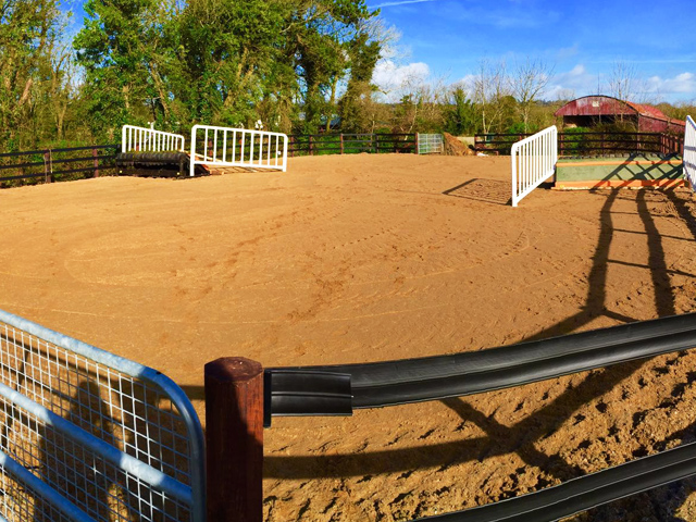 All Weather Sand Arena - Gaynestown Stud Wexford